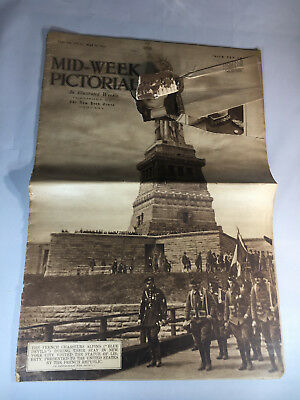 May 16, 1918 New York Times Mid-Week Pictorial 'The French Chasseurs Alpins'