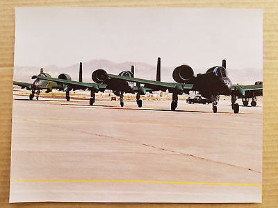 Original Usaf Photo - Taxing A-10 Thunderbolt - Piece Of Usaf Aviation History