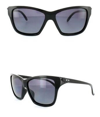 NEW Oakley Hold On sunglasses Black Grey Gradient Polarized oo9298-06 AUTHENTIC