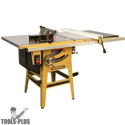 """Powermatic 1791230K 10"""" Tablesaw 50"""" Accu-Fence+ RIVING KNIFE New"""