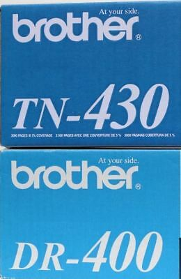 New Genuine Brother TN 430 and DR 400 Combo SET! FREE SHIPPING