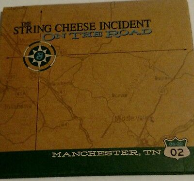 String Cheese Incident Manchester Tn. June 22 2002 Live 3 Cds