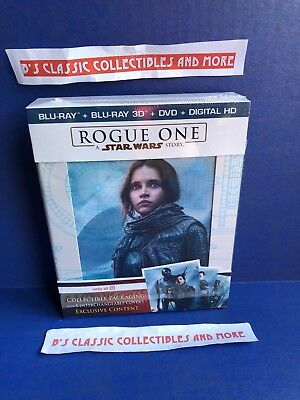 Rogue One A Star Wars Story Blu-Ray + 3D + DVD + Digital HD Target Exclusive