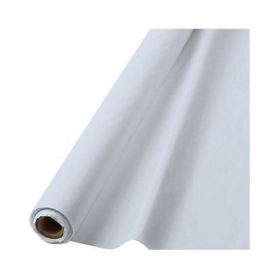 Clear 100ft Plastic Buffet Banquet Roll Wedding Party Table Cover