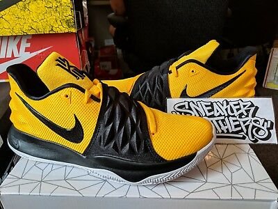 premium selection 1f827 8a4d4 Nike Kyrie Low 1 Amarillo Black Yellow Irving Basketball Men's AO8979-700