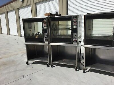 1 ea. Henny Penny Rotisserie #SCR-8 single door electric Commercial w/stand