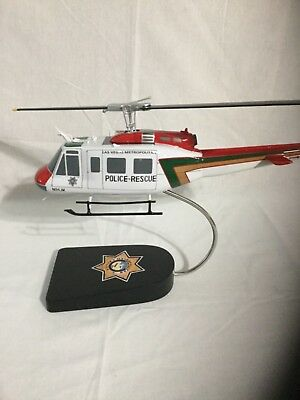 "Bell UH-1H ""Huey"" flown by the Las Vegas Police, scale model"