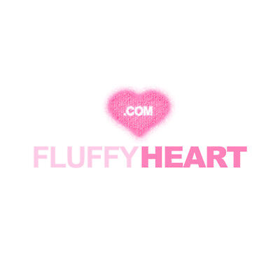 FluffyHeart.com Fluffy Heart! Brandable Domain Name for Fashion, Toys or Pets