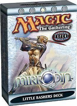 Mirrodin Theme Deck Little Bashers (ENGLISH) SEALED BRAND NEW MAGIC MTG ABUGames