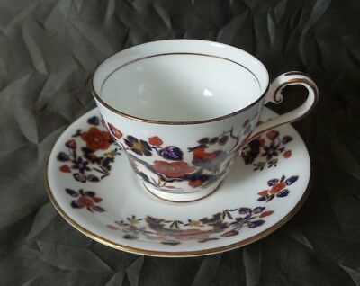 Beautiful Aynsley Bird of Paradise Collectible Coffee Cup & Saucer