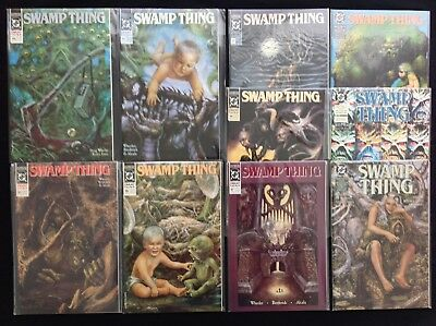 SWAMP THING Lot of 10 DC Comic Books - Run #93 94 95 96 97 98 99 100 101 102!
