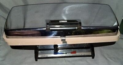 Vintage Sunbeam WAFFLE MAKER BAKER and GRILL TCGL-2 Chrome Silver