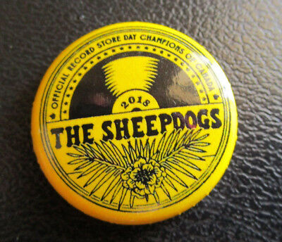 The Sheepdogs Record Store Day 2018 Champions of Canada Pin Button Badge RSD