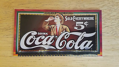 1996 Coca-Cola *Coke* SIGN OF GOOD TASTE Card TL-1 -NRMT/MINT!