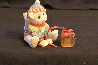 Calico Kittens Thought That Counts 360074 Cat Pulling Wrapped Ice Block w/Fish