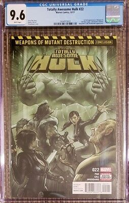 TOTALLY AWESOME HULK CGC 9.6 1st APPEARANCE WEAPON H