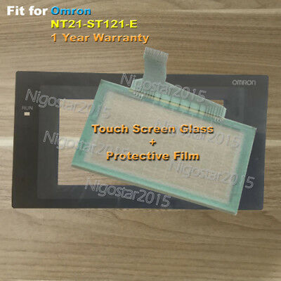 for Omron NT21-ST121-E Touch Screen Glass with Protective Film 1 Year Warranty
