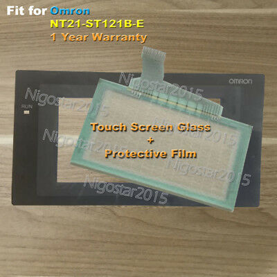 for Omron NT21-ST121B-E Touch Screen Glass with Protective Film 1 Year Warranty