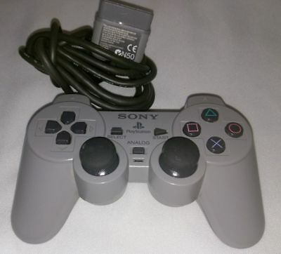 Sony PlayStation 1 DualShock Controller PS1 Analog Official CLEANED TESTED*GOOD