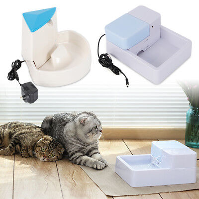 Pet Automatic Water Fountain Dog Cat Electric Water Drinking Filter Drinker Bowl