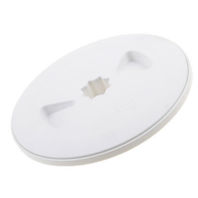 """Marine / Boat / RV White 6"""" Access Hatch Cover Screw Out Deck Plate"""