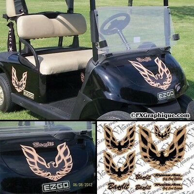 Smokey & The Bandit Golf Cart Decals Kit ***choose Your Color ***