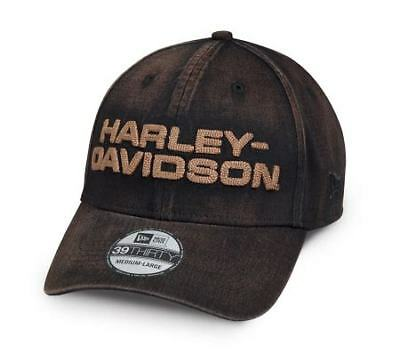 Harley Davidson genuine motroclothes fitted cap wash style med-xlarge
