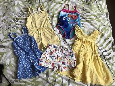 Baby Girls 5 Peice Summer Holiday Bundle Age 18-24 Months