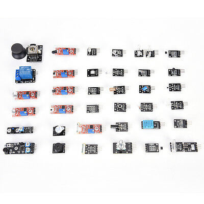 ULTIMATE 37 IN 1 Box Sensor Modules Kit for Arduino MCU