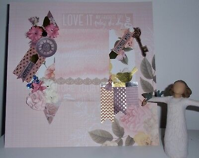 Handmade Scrapbook page - Today's the Day