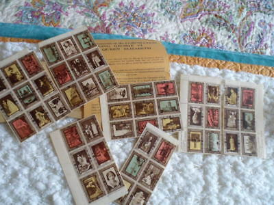 Collectable vintage Coronation Souvenir stamps.1937