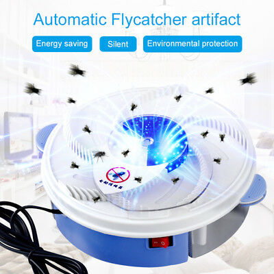USB Electric Automatic Flycatcher Fly Trap intelligent Pest Reject Control Catch