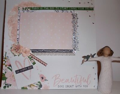 Handmade Scrapbook page - Oh Happy Day