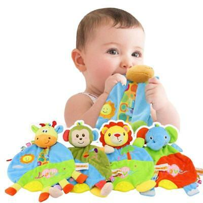 Baby Infant Perferred Appease Doll Toy Teether Developmental Soft Toys Doll FI