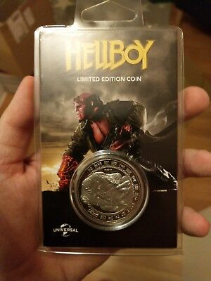Hellboy Limited Edition Coin Silber Edition