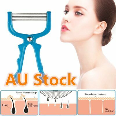 Face Roller Epilator Threading Facial Hair Remover Beauty Tool Spring Smooth BU