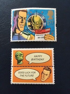 Dan Dare Stamp And Lable Mnh Gb Atamps