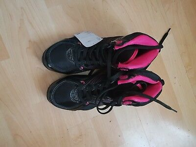 Pineapple Dance Black And Pink Trainers size 5