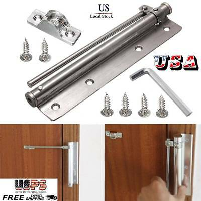 Changeable Stainless Steel Surface Mounted Auto Closing Door Closer Fire Rated