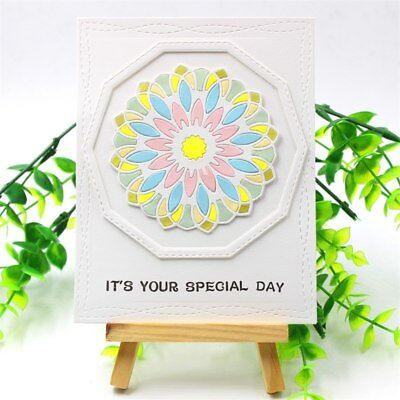 Mandala Flower Metal Cutting Dies Stencils DIY Scrapbooking Stamp/photo album