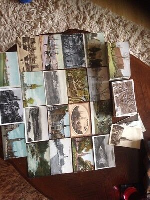 Two Albums Of Postcards Containing 200 Topographical Postcards In Total