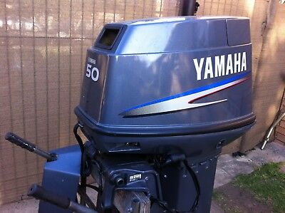 Yamaha 50hp Cowl 6H5 Mint Condition
