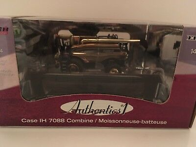 Case IH 7088 Combine Authentics #1 Gold Chase 1/64 Ertl.