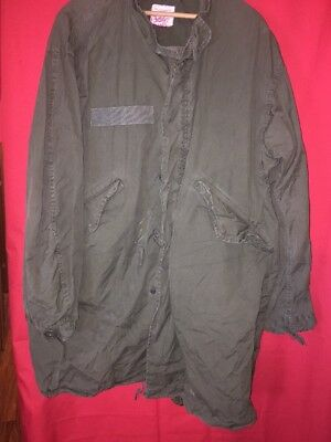 Vanderbilt Shirt Company VTG US ARMY Parka, Extreme COLD Weather Army Green
