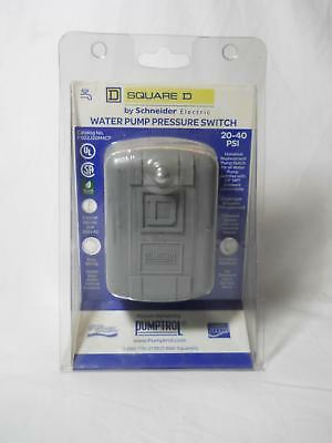 Square D By Schneider Fsg2J20M4Cp 20-40 Psi Water Pump Pressure Switch New