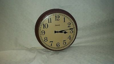 12 Inch Vintage Ferranti Electric Wall Clock