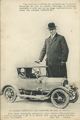 An electric miniature Cadillac from M.F.S.Bennet Ltd, Shaftsbury Ave, London