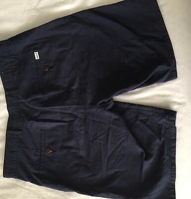 Men's Navy Levi Shorts