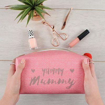 Yummy Mummy Cube Make Up Bag - Make Up Bag for Mum - Gift for Mum - Make Up Bag