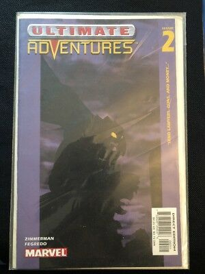 "Ultimate Adventures #2 (February 2003 Marvel Comics) ""Send Lawyers, Gun, and Mon"